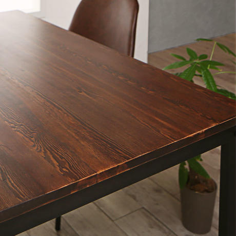 Solid Pine Wood Vintage Design Dining 500028765