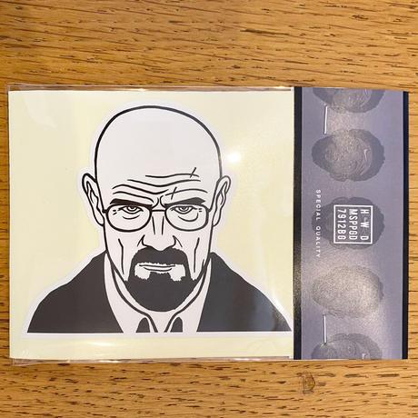 """""""ウォルター"""" ステッカー 100 SET Limited ※6枚入り"""