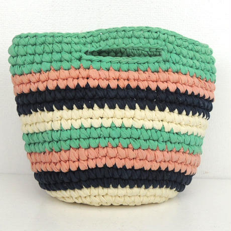 marbleSUD(マーブルシュッド) CUT CLOTHES Crochet  BAG GREEN 087M030127