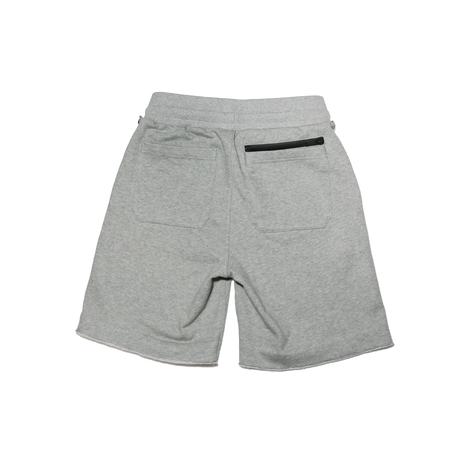 Boxy Cut Off Sweat Short Pants Heather Gray  19S-218