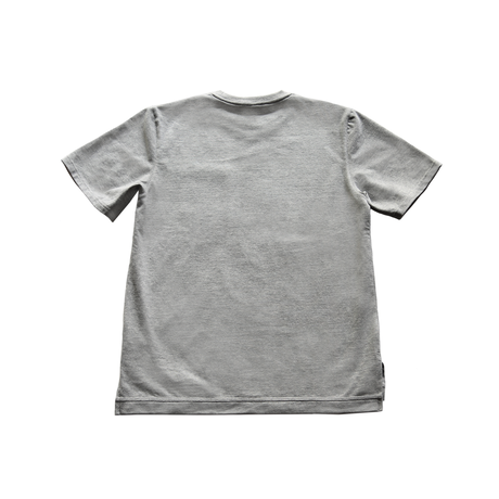 Box Pocket Side Slit Tee   Heather Gray  19S-108