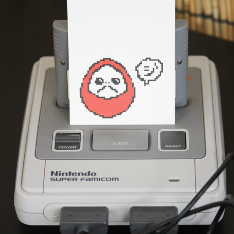 ポストカード「デジ3」デジタルイラスト
