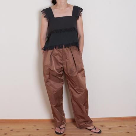 【&her】Weave Tops/CharcoalGray