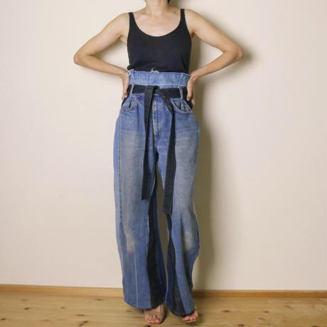 【&her】her denim pants -wide-