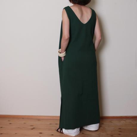 【&her】Rib Onepiece/Green