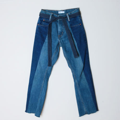 【&her】her denim pants -straight-