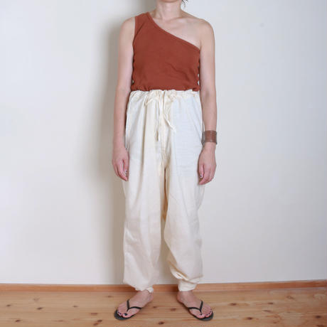 【&her】Military Pants/White