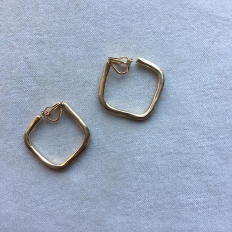 【&her】Square  earrings