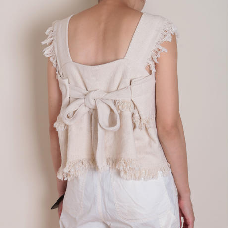 【&her】Weave Tops/Ivory