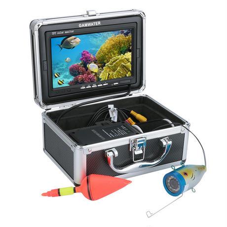 水中カメラ 7インチモニター 釣りカメラ 1000tvl ビデオカメラキット GAMWATER (ケーブル30m)