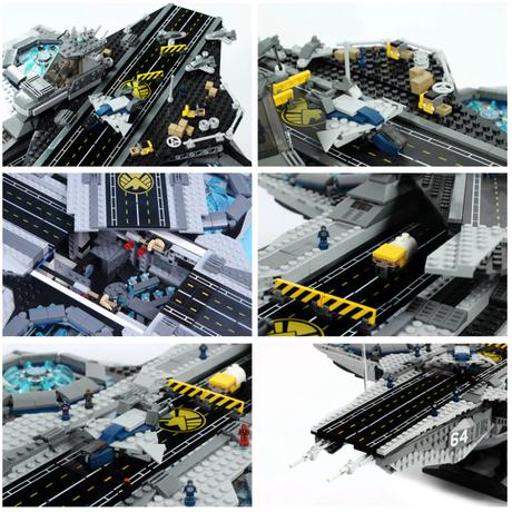 LEGOing アベンジャーズ ヘリキャリア