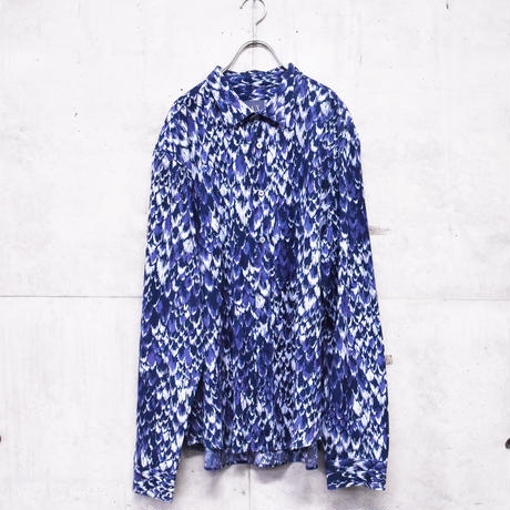 ARMANI EXCHANGE L/S design printed shirt