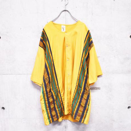 ~80s S/S no collar design jacket