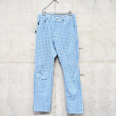 Paul Smith gingham plaid pants