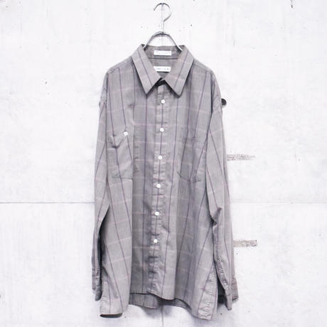 Pierre cardin polyester cotton check shirt