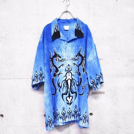 "chicano shirt ""dragon"""