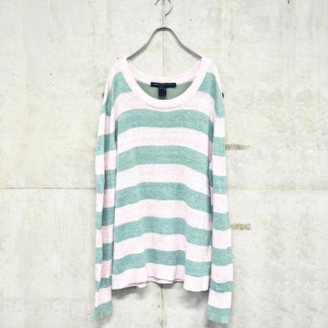 Marc By Marc Jacobs border summer knit