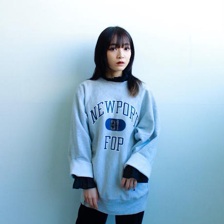 "80's Champion reverse weave sweat ""cut off"""