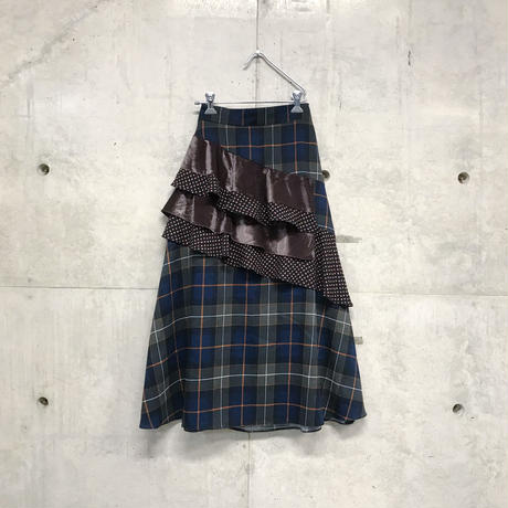 Tartan check design skirt