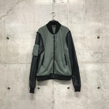 """LONG JOURNEY""  Remake military jacket"