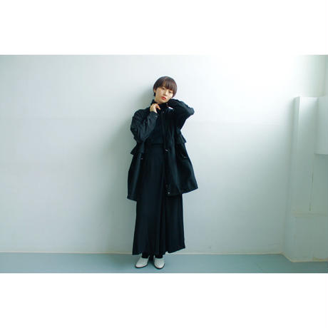 "Cotton satin coat ""type M-65"""