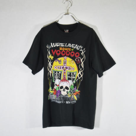80's MARIE LAVEAU Tee スカル/T-0016