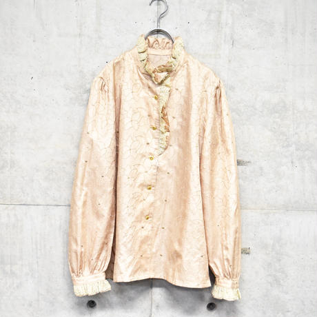 frill design shirt