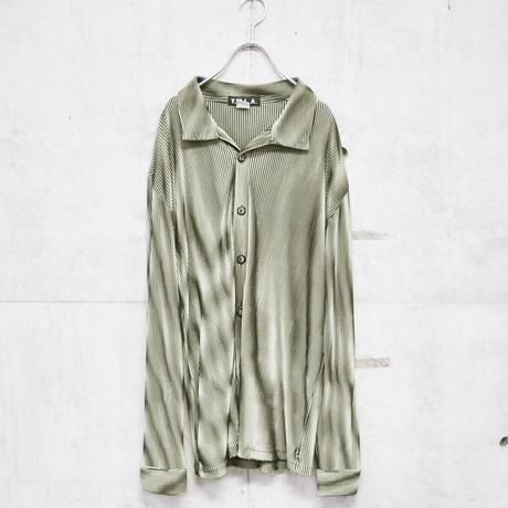 90s pleats design shirt