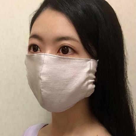 秀円シルクマスク・立体型