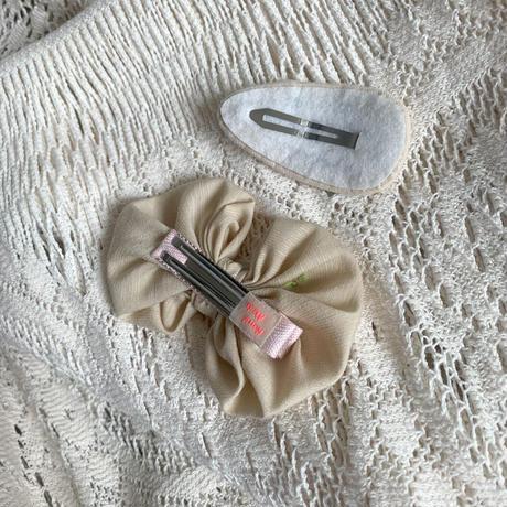 刺繍&リボンヘアピンset