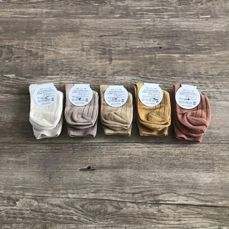 5 shades of colors socks set