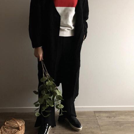 ●sale●ロングknit cardigan(mama)