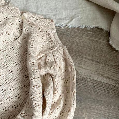 袖ボリューム knit TOP