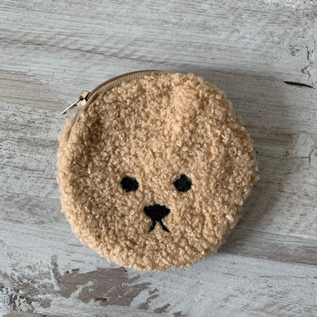 animal face mini pouch