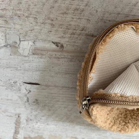 animal face mini pouch