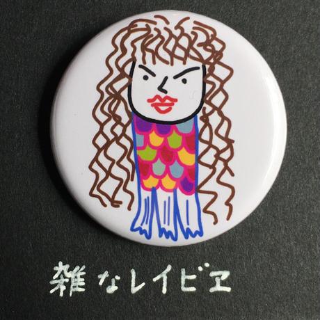 厚見さん手ぬぐい(オマケ缶バッジ付き)