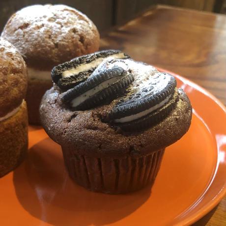 【4月限定】今月のマフィン&ケーキ6個セット(キャロットケーキ2個/抹茶チョコチップマフィン2個/オレオチョコマフィン1個/ヌテラチョコマフィン1個)