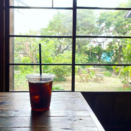【¥200お得な3袋セット/WEB限定】古民家カフェ蓮月オリジナルブレンド(コーヒー豆) 100g×3袋セット