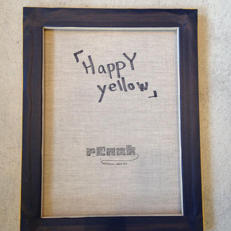 【SALE】30%OFF『HappY yellow』