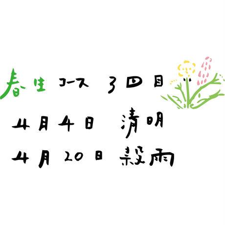 【店頭受取】【1回/2021年4月】【冷凍】食養生ごはん便 月ノ子