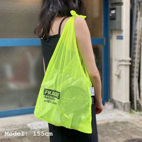 Handleless Mesh Stuff Tote  by STUMP STAMP