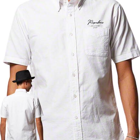 オリジナル★ボタンシャツ★【刺繍デザイン】※数量限定