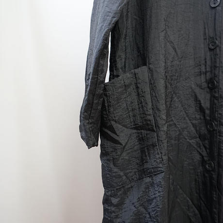 nylon spling coat black
