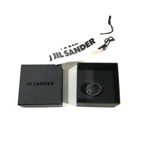 新品 jilsander 2019aw curve silver ring
