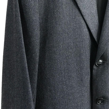 agnesb made in france leather wool set up suit