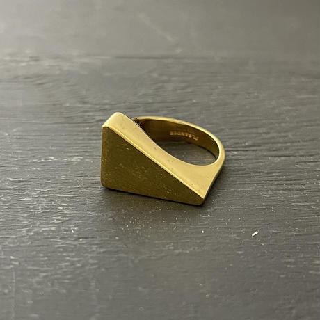新品 jilsander 2019aw gold ring