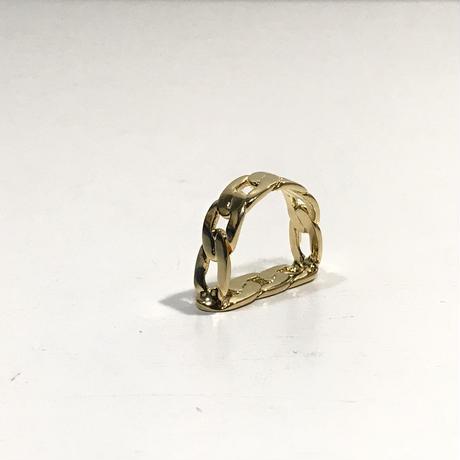 新品 maison margiela 2019aw ring gold 10号