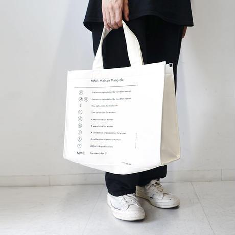 新品MM6 2019SS calendar tag bag