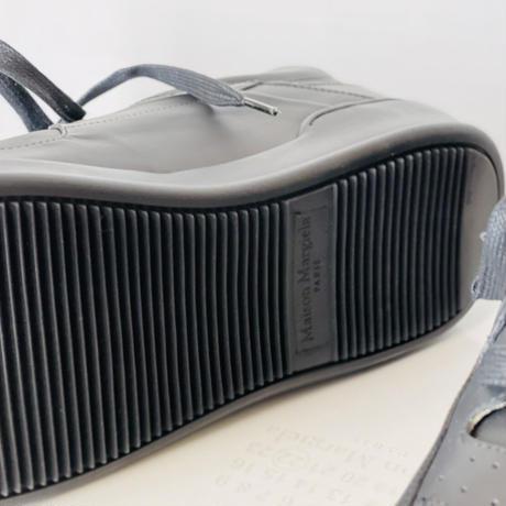 新品 maison margiela air force 1 type sneakers black 40