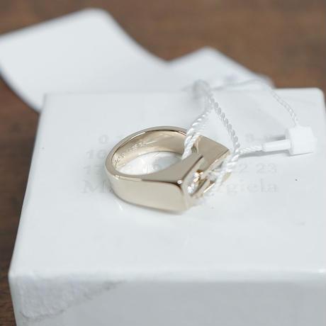 新品 maison margiela zirconia ring